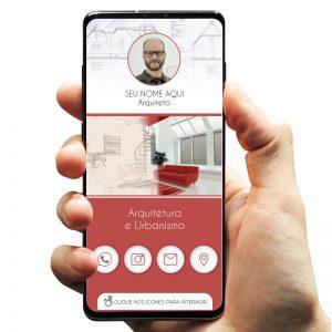 Cartão de Visita Digital Arquiteto / Arquitetura