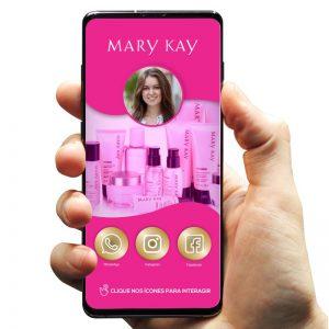 Cartão de Visita Digital Mary Kay (Interativo)