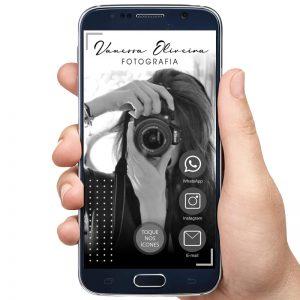 Cartão de Visita Digital Fotógrafa (Interativo)