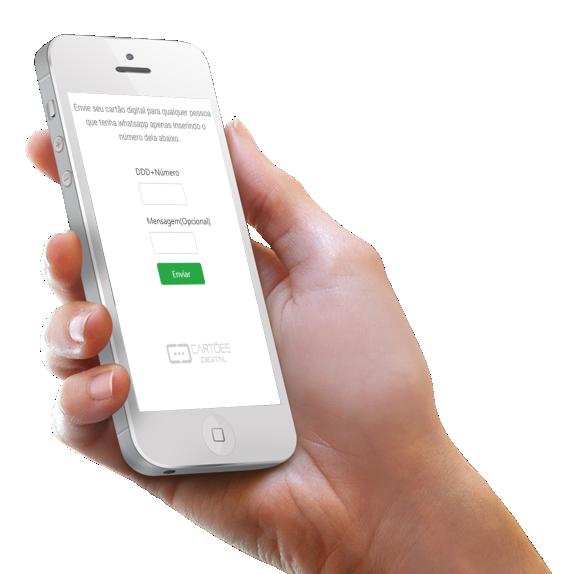 novidade envio fácil cartão digital interativo