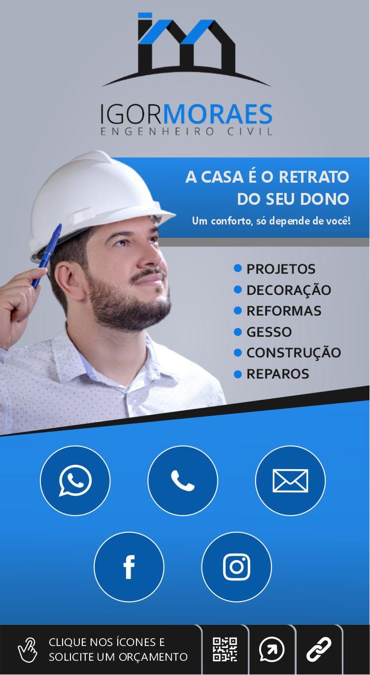 Cartão de visita digital Igor Moraes