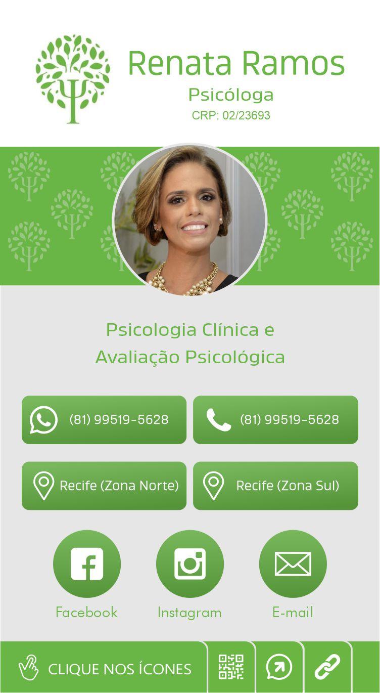 Cartão de visita digital Renata Ramos
