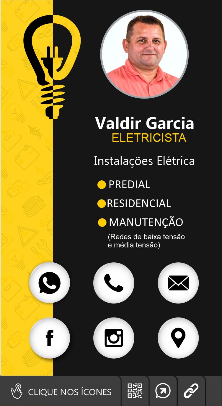 Cartão de visita digital Valdir Garcia