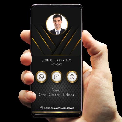 imagem cartão de visita digital advogado